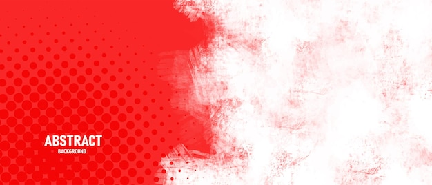 Abstracte rode achtergrond met grungetextuur