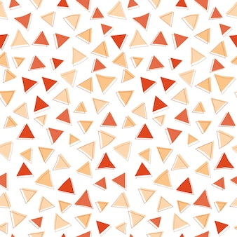 Abstracte rode driehoek vorm naadloze patroon achtergrond