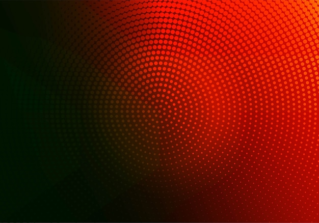 Abstracte rode en zwarte gestippelde circulaire