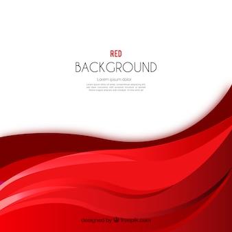 Abstracte rode golvenachtergrond