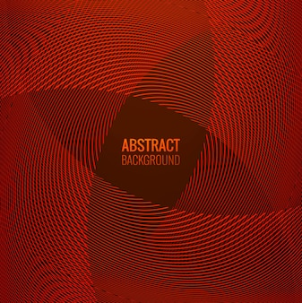 Abstracte rode lijn geometrische golf achtergrond
