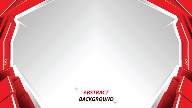 Abstracte rode tech achtergrond met strepen