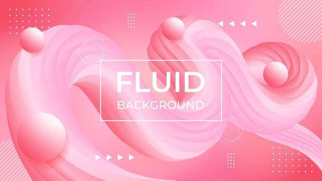 Abstracte roze achtergrond met mooie vloeibare vloeistof voor cosmetica crème achtergrond.
