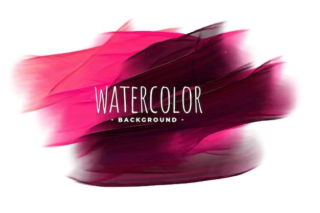 Abstracte roze en zwarte aquarel textuur achtergrond