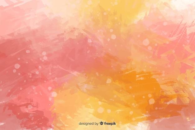 Abstracte roze geschilderde hand als achtergrond
