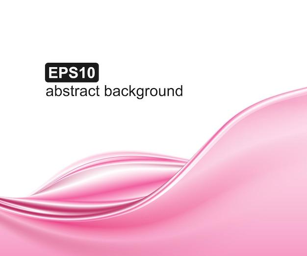 Abstracte roze golven achtergrond.