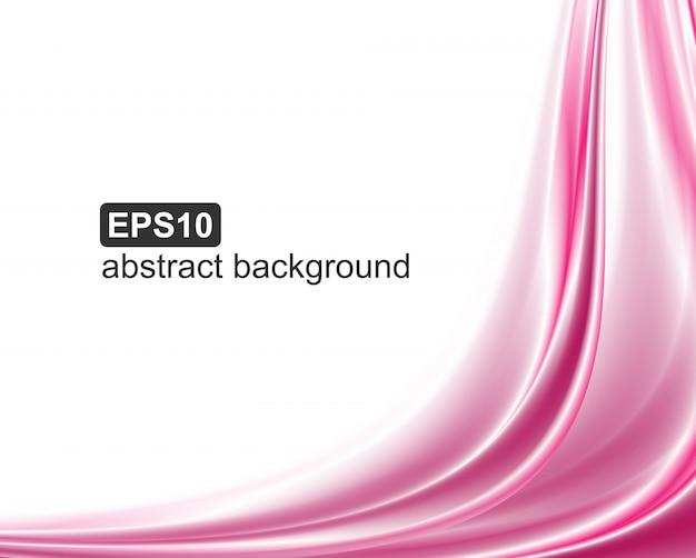Abstracte roze golvenachtergrond.