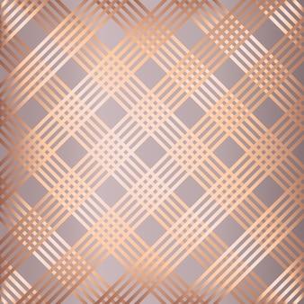 Abstracte roze gouden gestreepte patroonachtergrond