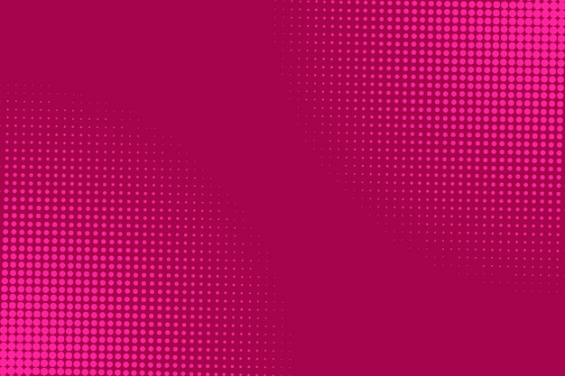 Abstracte roze halftone achtergrond