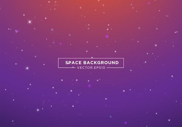 Abstracte ruimteachtergrond