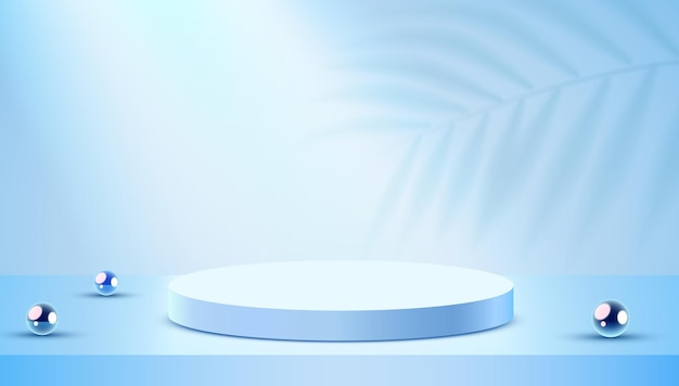 Abstracte scène achtergrond cilinder podium atform