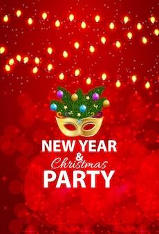 Abstracte schoonheid vrolijk kerstfeest en nieuwjaarsfeest achtergrondkerst nieuwjaar