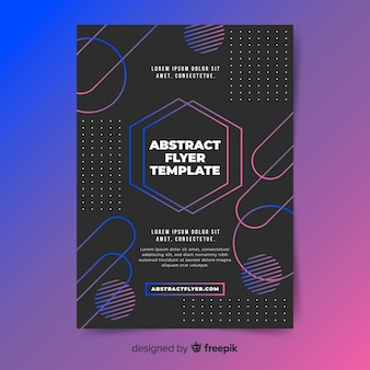 Abstracte sjabloon folder