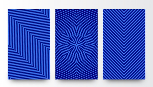 Abstracte spin patroon achtergronden