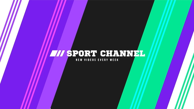 Abstracte sport youtube kanaalart