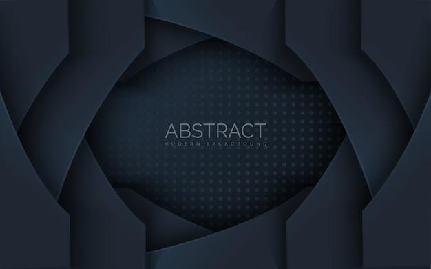 Abstracte stapel heap vorm met schaduweffect.