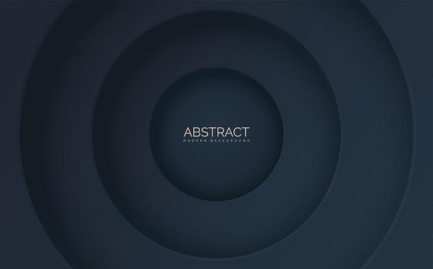 Abstracte steeds kleinere cirkels.