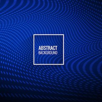 Abstracte stijlvolle blauwe gestippelde golf achtergrond