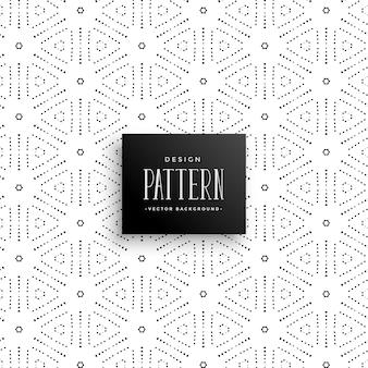 Abstracte stippen lijn patroon achtergrond