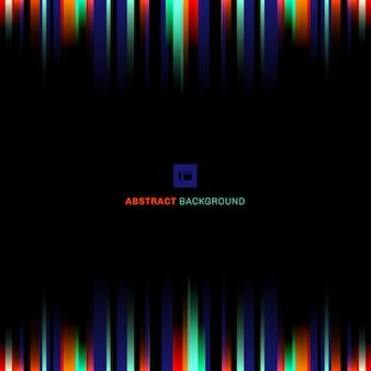 Abstracte streep verticale lijnen zwarte achtergrond