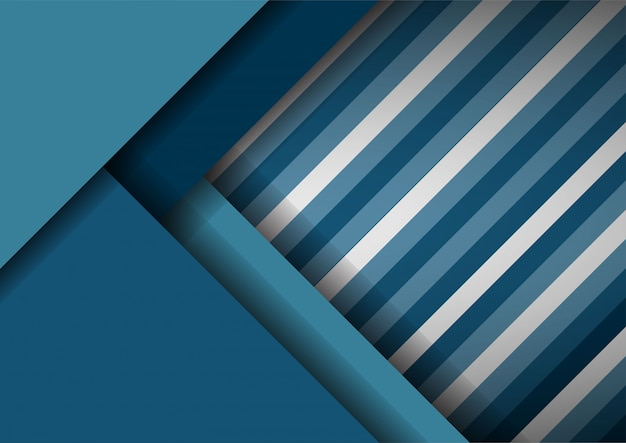 Abstracte striper papier gesneden decoratie