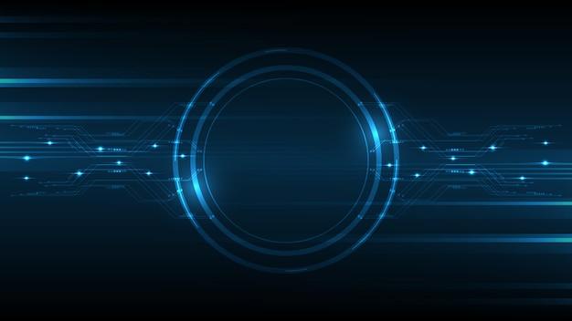 Abstracte technische achtergrond hi-tech communicatie concept innovatie achtergrond