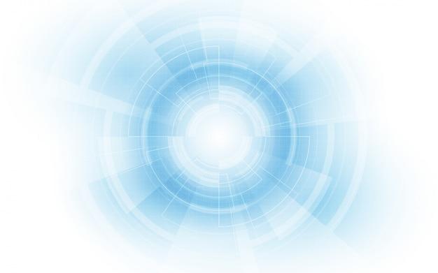 Abstracte technische achtergrond hi-tech communicatie conceptinnovatie