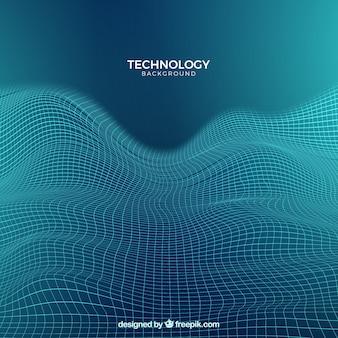Abstracte technische achtergrond