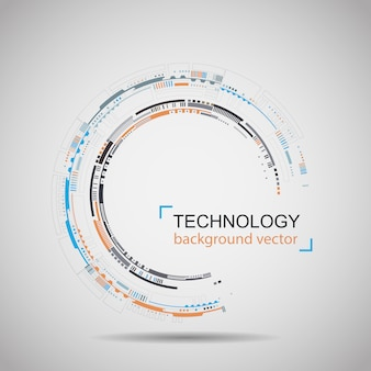 Abstracte technologie achtergrond