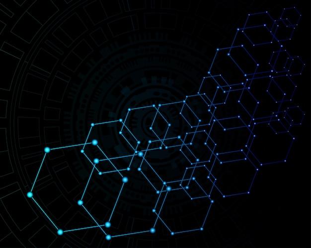 Abstracte technologie digitale achtergrond