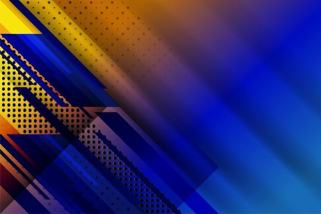 Abstracte technologieachtergrond met gestippelde geometrische textuur