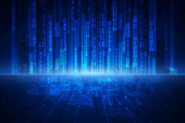 Abstracte technologiebeveiliging op globale netwerkachtergrond