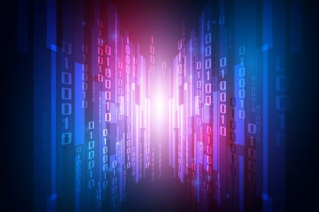 Abstracte technologiebeveiliging op wereldwijde netwerkachtergrond