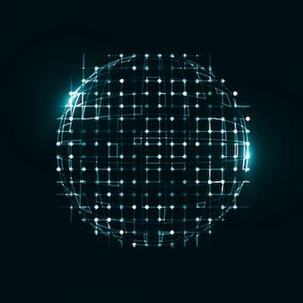 Abstracte technologische achtergrond