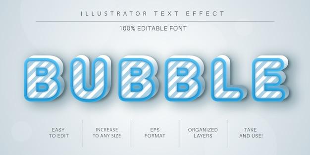 Abstracte tekststijl, lettertype-effect
