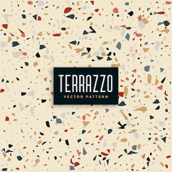 Abstracte terrazzo tegels patroon achtergrond