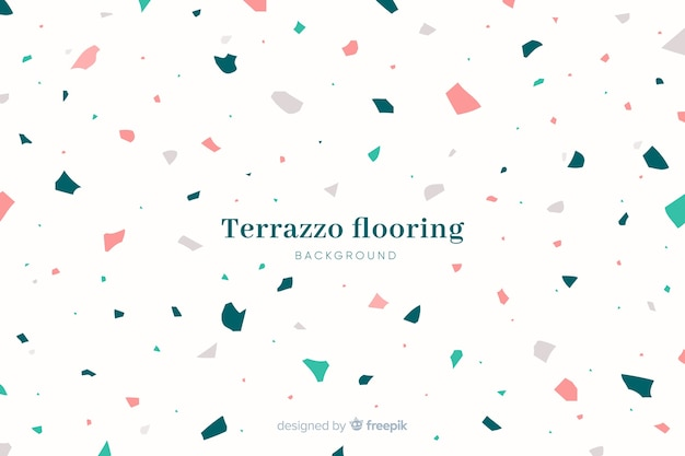 Abstracte terrazzo textuur vloeren achtergrond