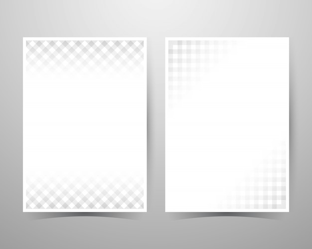 Abstracte textuur achtergrond, grijs patroon, lay-out sjabloon a4-formaat.