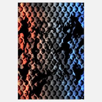 Abstracte textuur achtergrondillustratie voor sportachtergrond