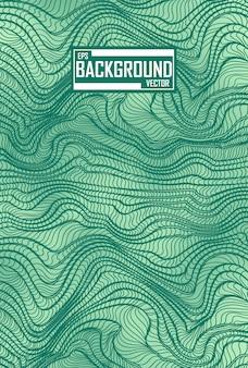 Abstracte textuur met golvenpatroon