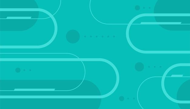 Abstracte tosca kleur achtergrond met vormen vector design