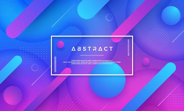 Abstracte trendy geometrische vectorachtergrond.