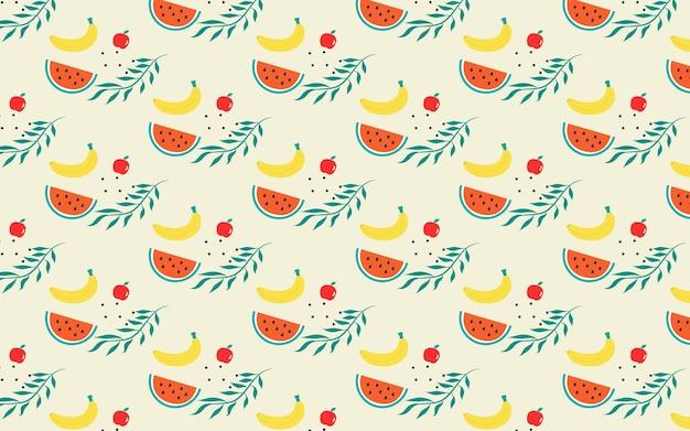 Abstracte tropische fruitachtergrond