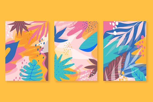 Abstracte tropische kaarten