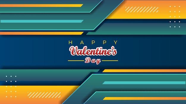 Abstracte valentijn achtergrond moderne decoratie ontwerpsjabloon