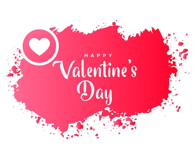 Abstracte valentijnsdag achtergrond in grunge stijl