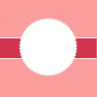 Abstracte valentijnsdag achtergrond vectorillustratie