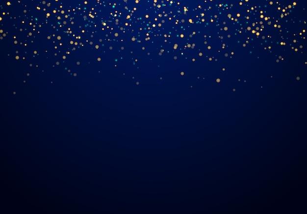Abstracte vallende gouden glitter lichten textuur achtergrond