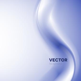 Abstracte vector blauwe rookachtergrond