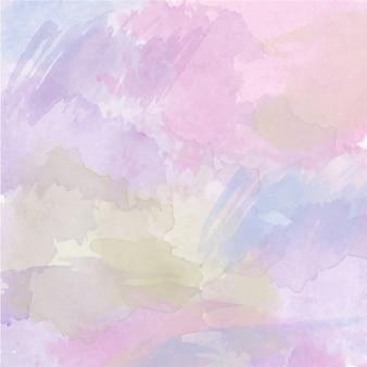 Abstracte vector handgetekende aquarel achtergrond